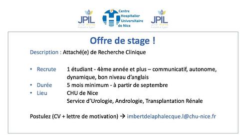 Offres De Stages Junior Pharma Industrie Lyon